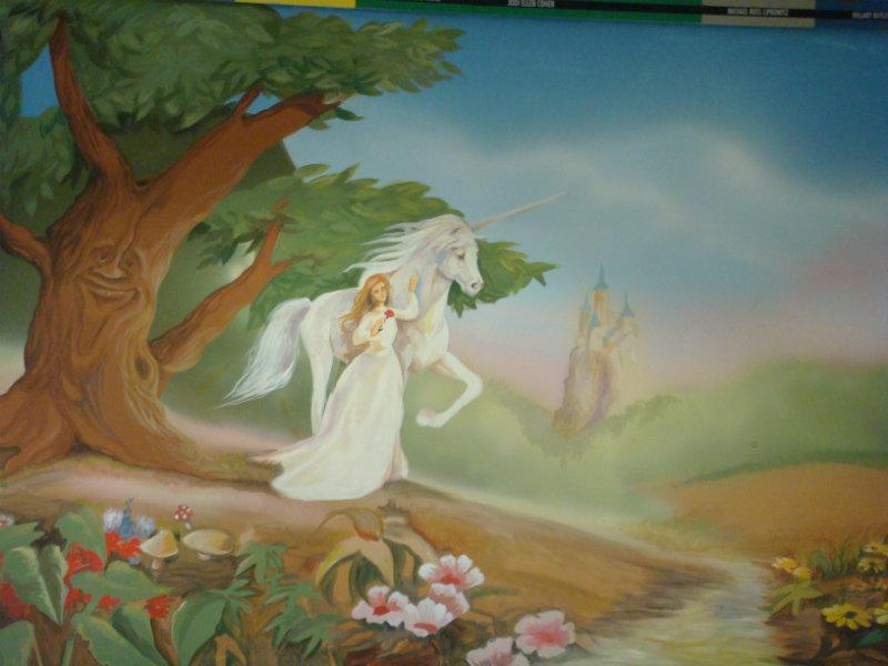 ציור קיר דיסני