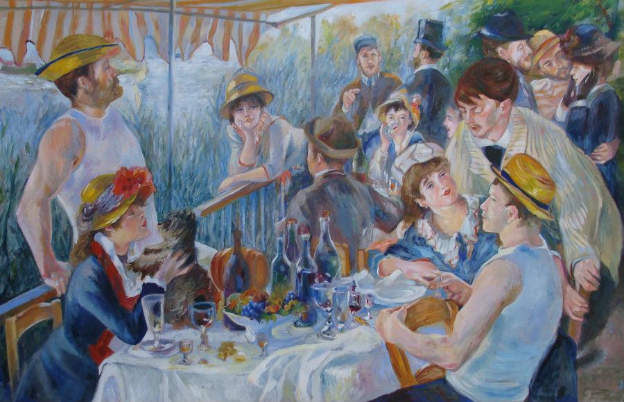 ארוחת בוקר בבית הסירה פייר-אוגוסט רנואר