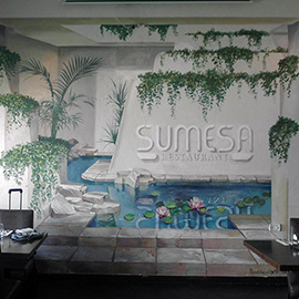 Wallpainting sumesa