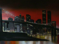 ציור קיר בבית עסק מפגש אקריש