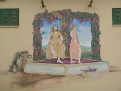 ציור קיר לוגו ביקב קלע דוד גבעת ישעיהו
