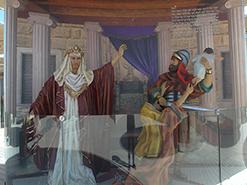 מדבקת קיר ארמונו של המלך שלמה מבוססת על הציור הדיגיטלי