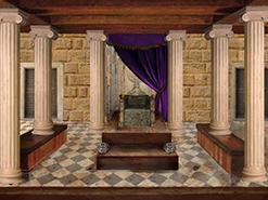 ציור דיגיטלי ארמונו של המלך שלמה