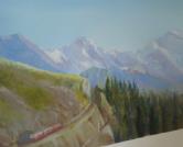ציור קיר רכבת