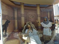 מדבקת קיר ארמונו של פרעה רעמסס מבוססת על הציור הדיגיטלי