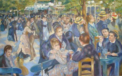 ציור שמן בהזמנה אישית של פייר אוגוסט רנואר