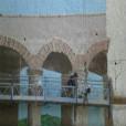 תהליך העבודה ציורי קיר בבית מלון