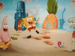 ציור של בוב ספוג