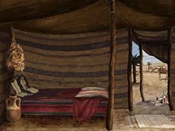 ציור דיגיטלי אוהל יצחק